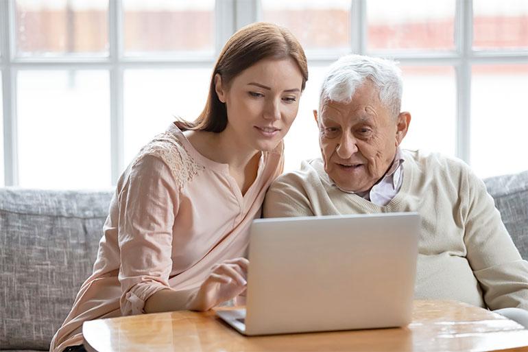 Online-Betreuungsanfrage
